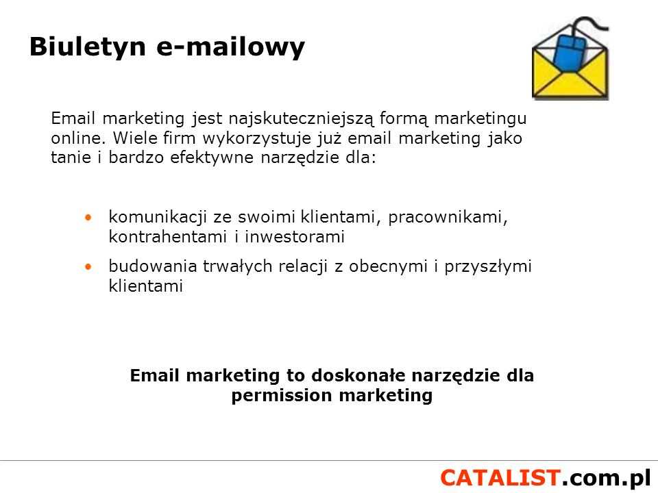 Email marketing to doskonałe narzędzie dla permission marketing