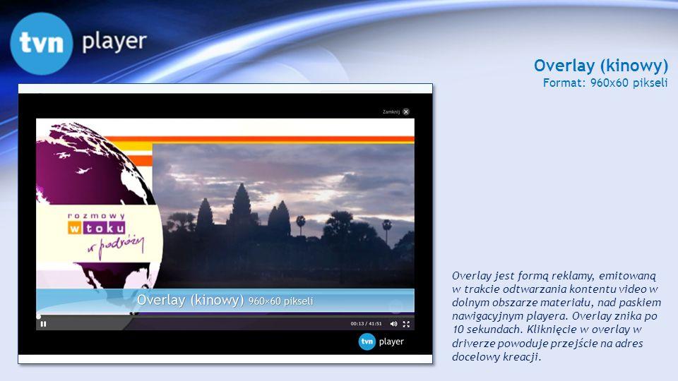 Overlay (kinowy) Format: 960x60 pikseli