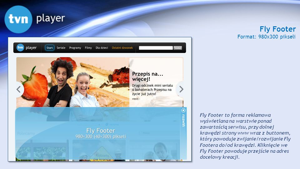 Fly Footer Format: 980x300 pikseli