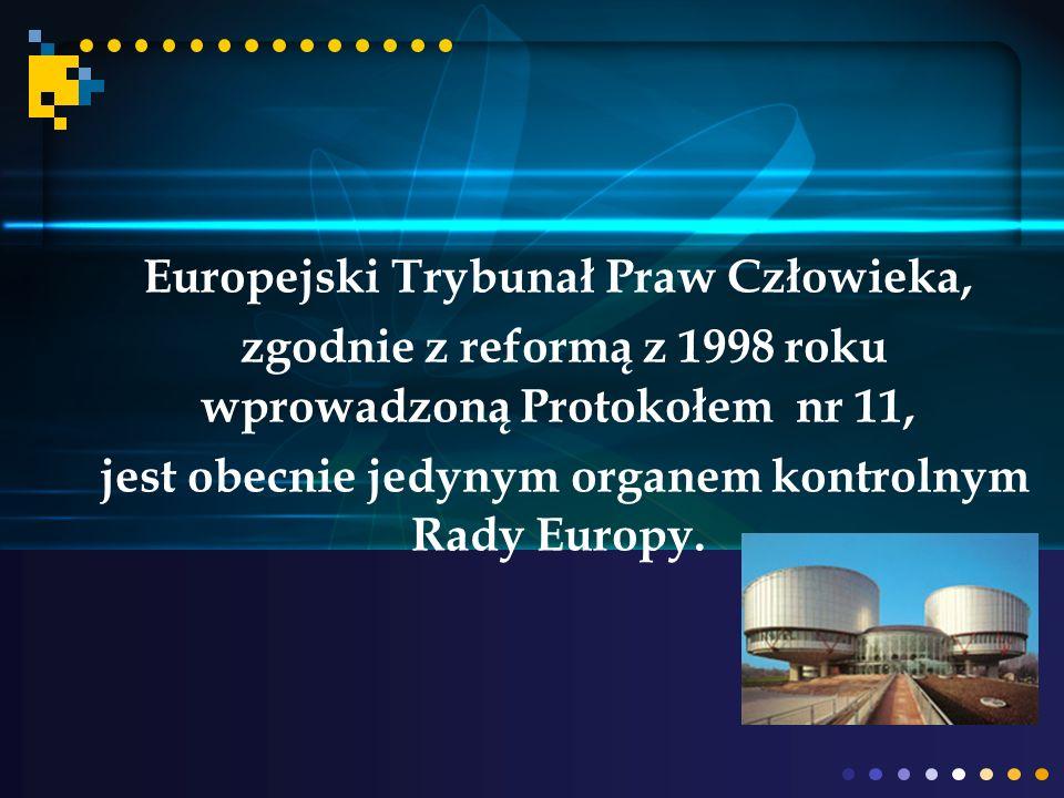 Europejski Trybunał Praw Człowieka,