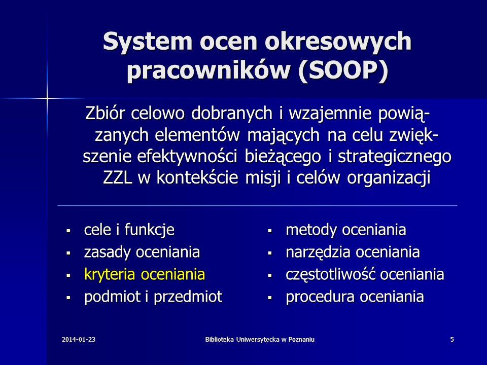 System ocen okresowych pracowników (SOOP)