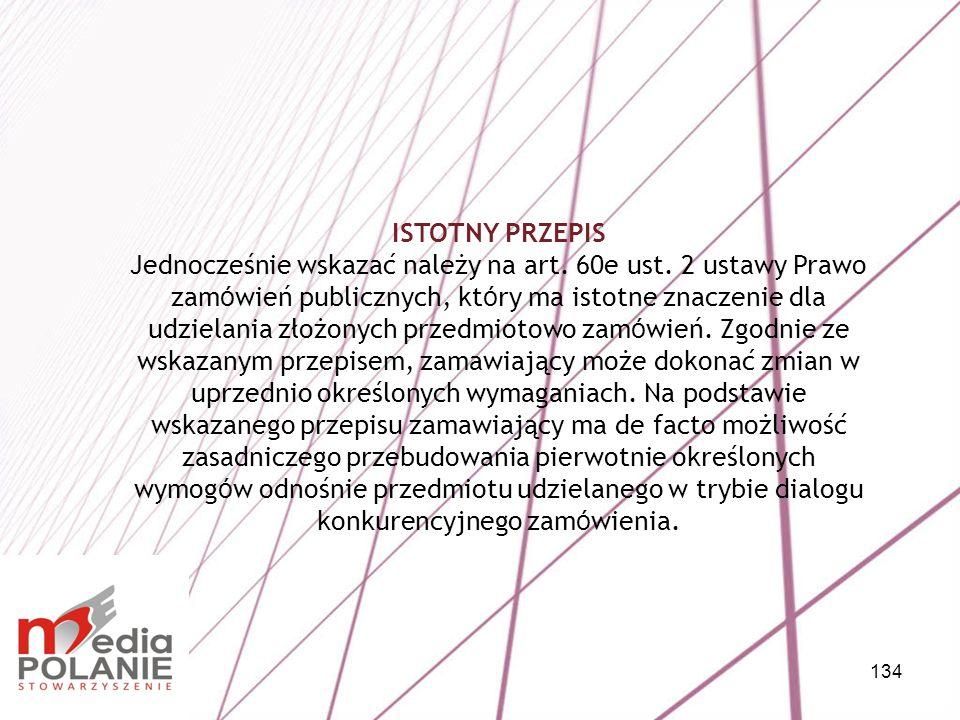ISTOTNY PRZEPIS