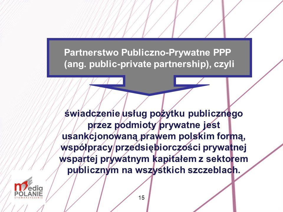 Partnerstwo Publiczno-Prywatne PPP