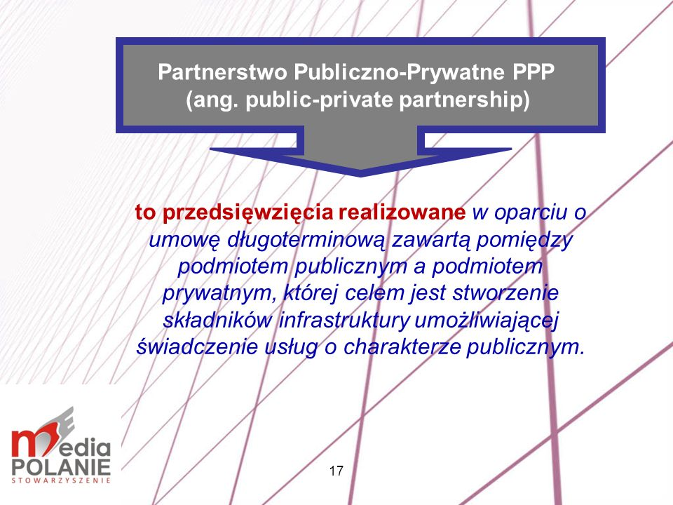 Partnerstwo Publiczno-Prywatne PPP (ang. public-private partnership)
