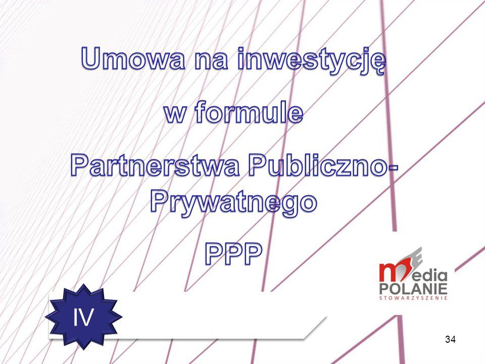 Partnerstwa Publiczno-Prywatnego