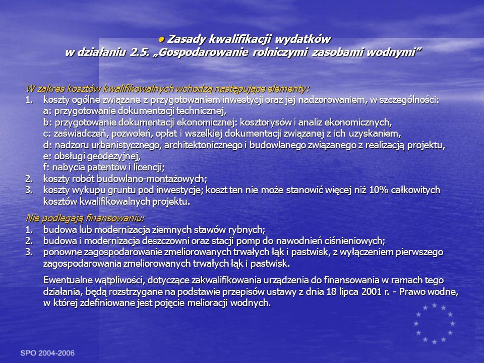 • Zasady kwalifikacji wydatków