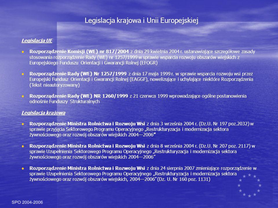 Legislacja krajowa i Unii Europejskiej