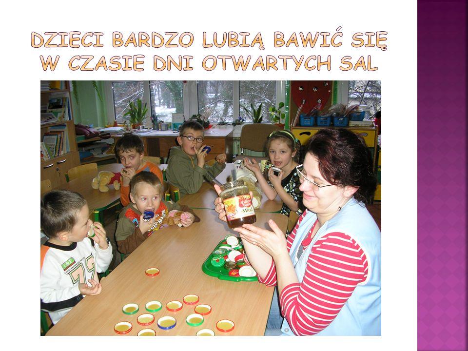 Dzieci bardzo lubią bawić się w czasie dni otwartych sal
