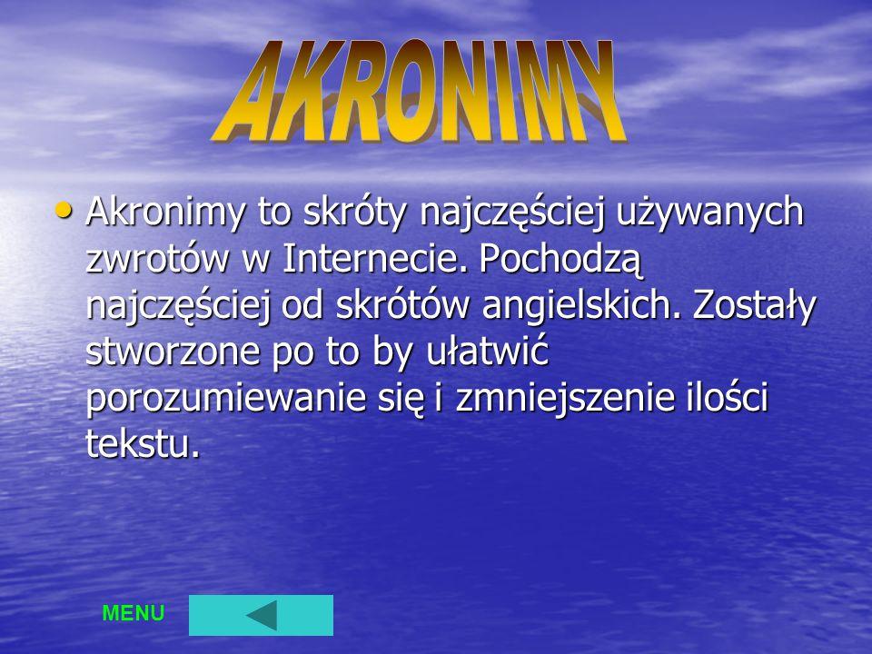 AKRONIMY