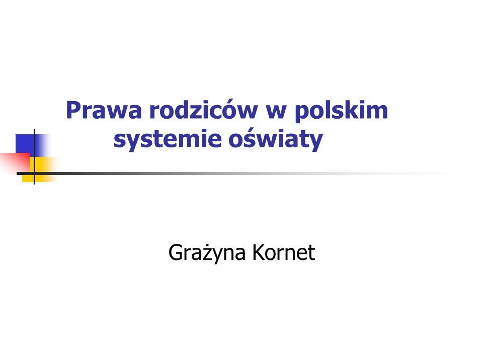 Prawa rodziców w polskim systemie oświaty