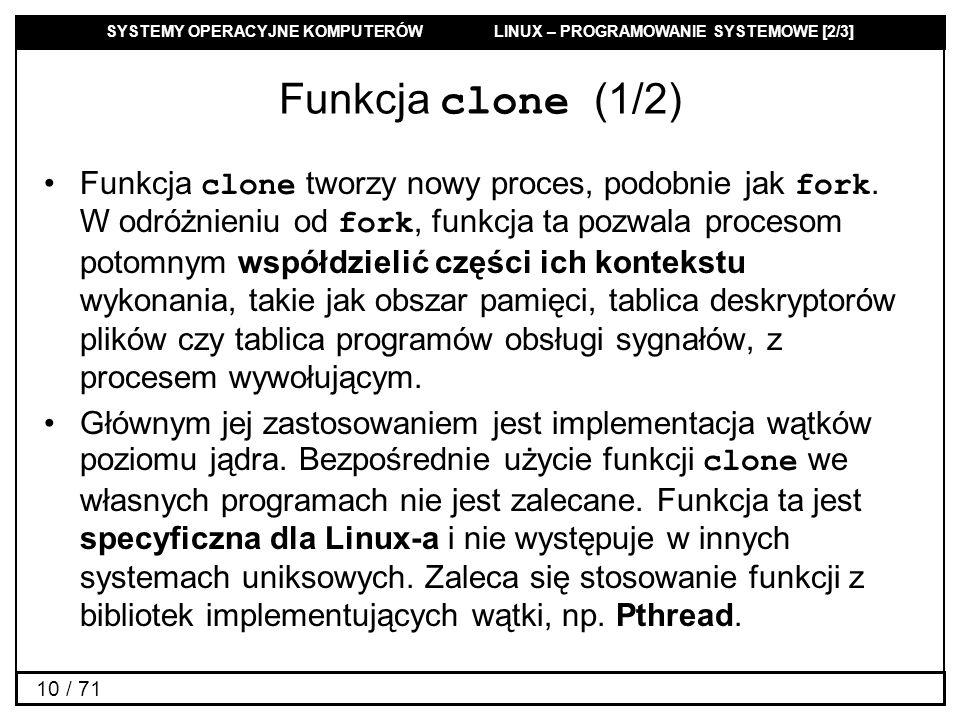 Funkcja clone (1/2)