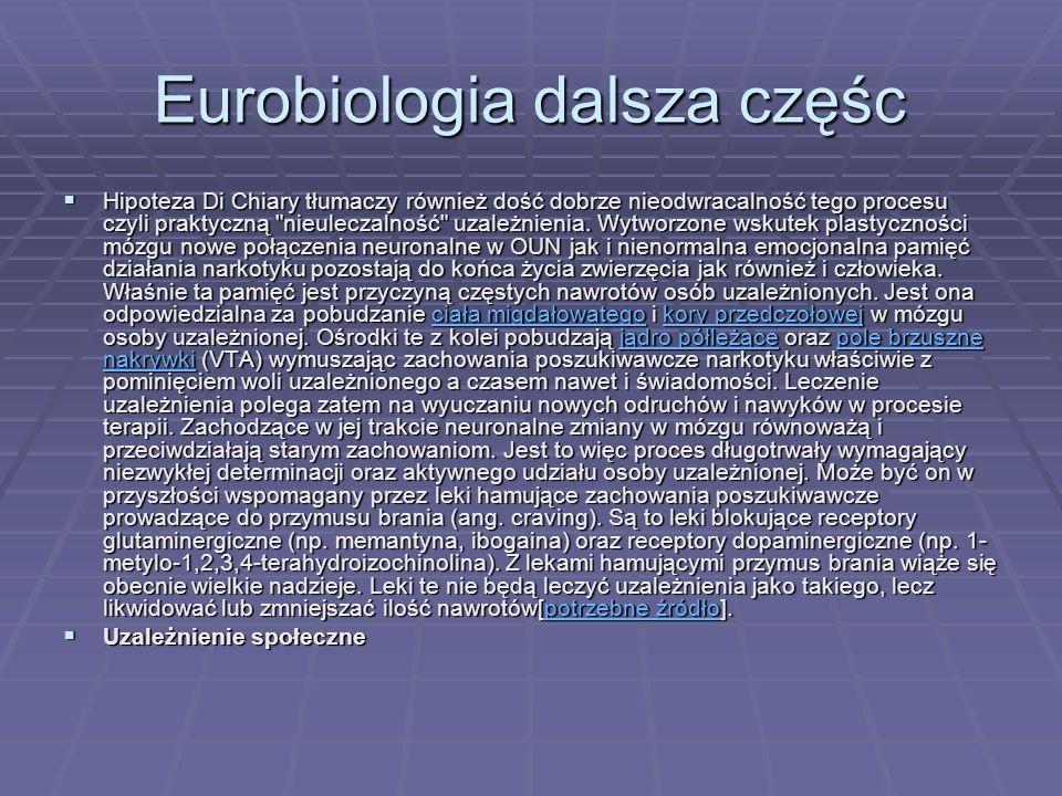 Eurobiologia dalsza częśc
