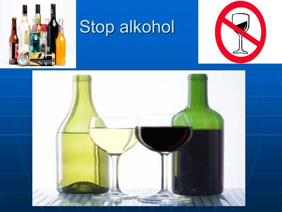 Stop alkohol
