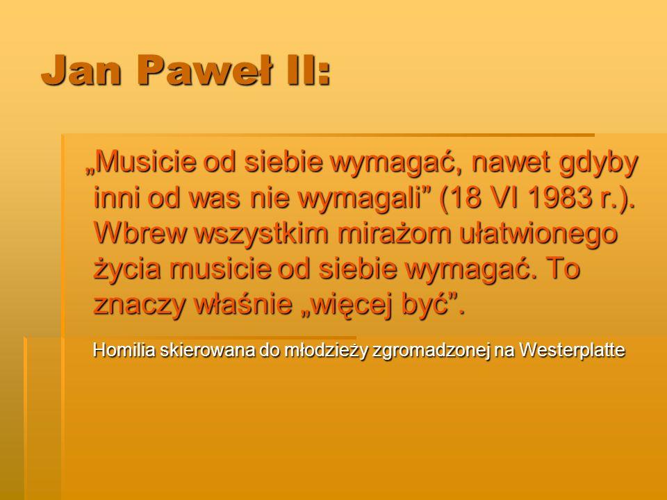 Jan Paweł II: