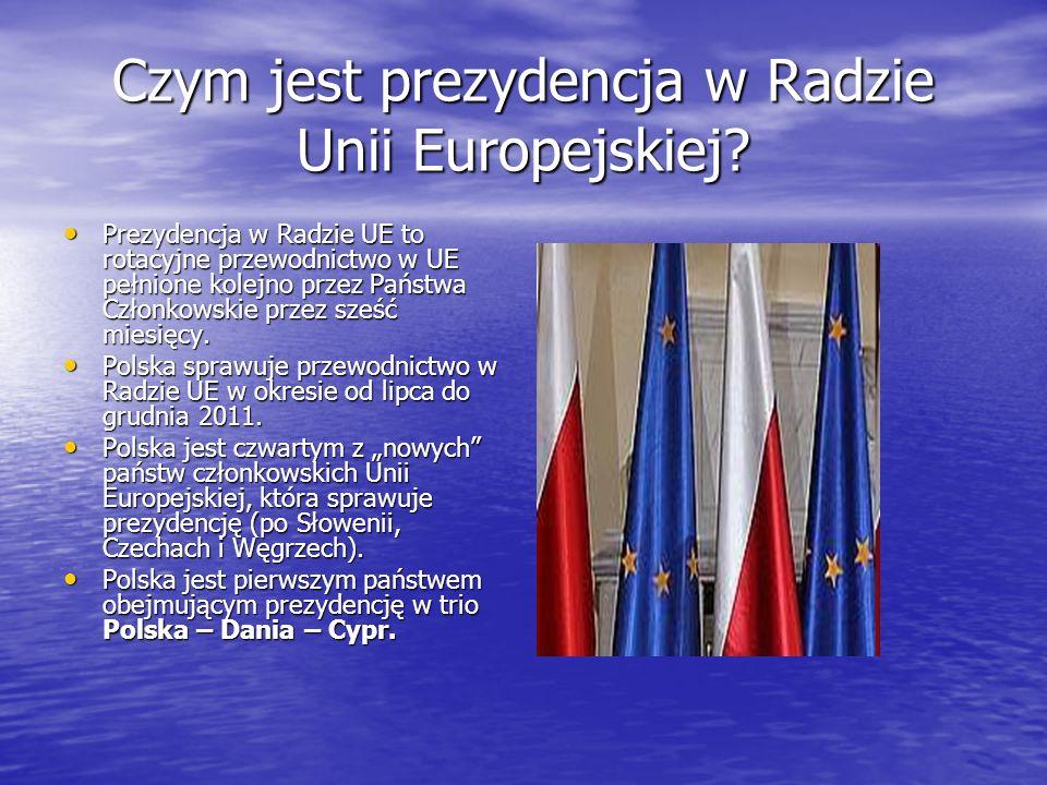 Czym jest prezydencja w Radzie Unii Europejskiej