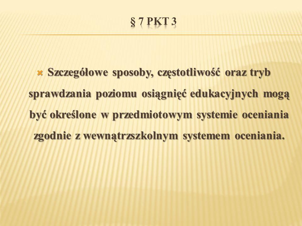 § 7 pkt 3