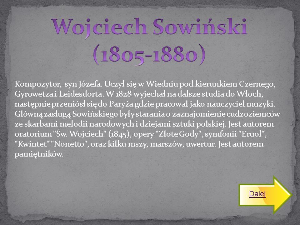 Wojciech Sowiński (1805-1880)