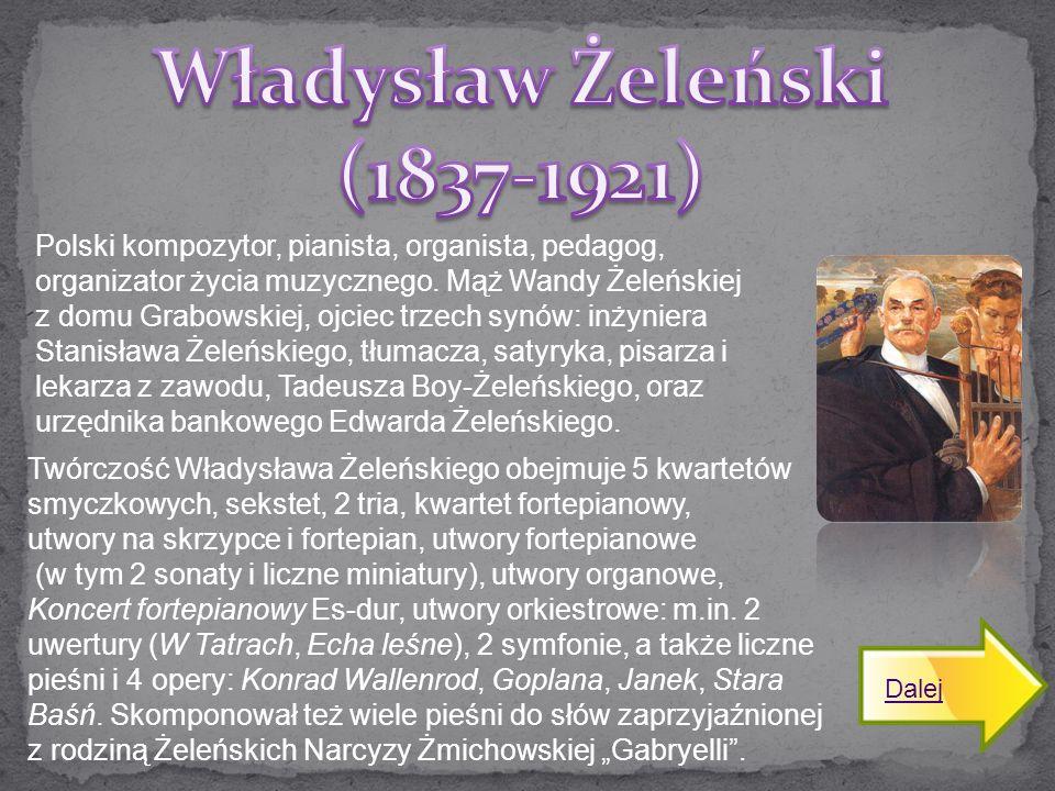 Władysław Żeleński (1837-1921)