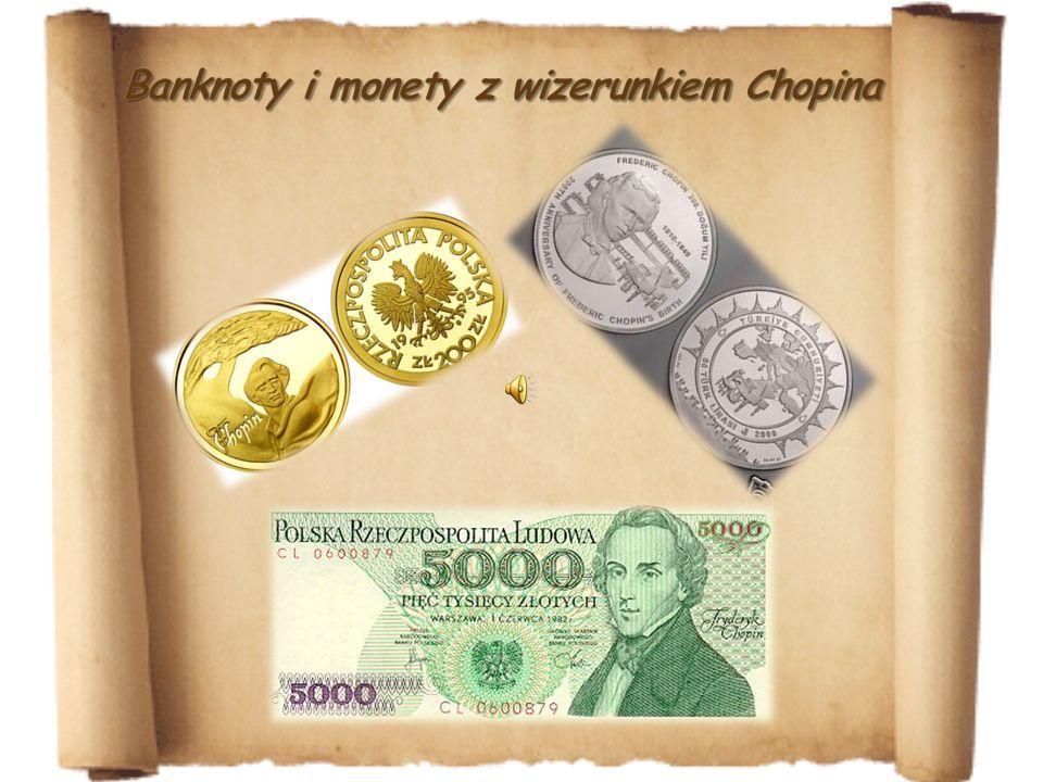 Banknoty i monety z wizerunkiem Chopina