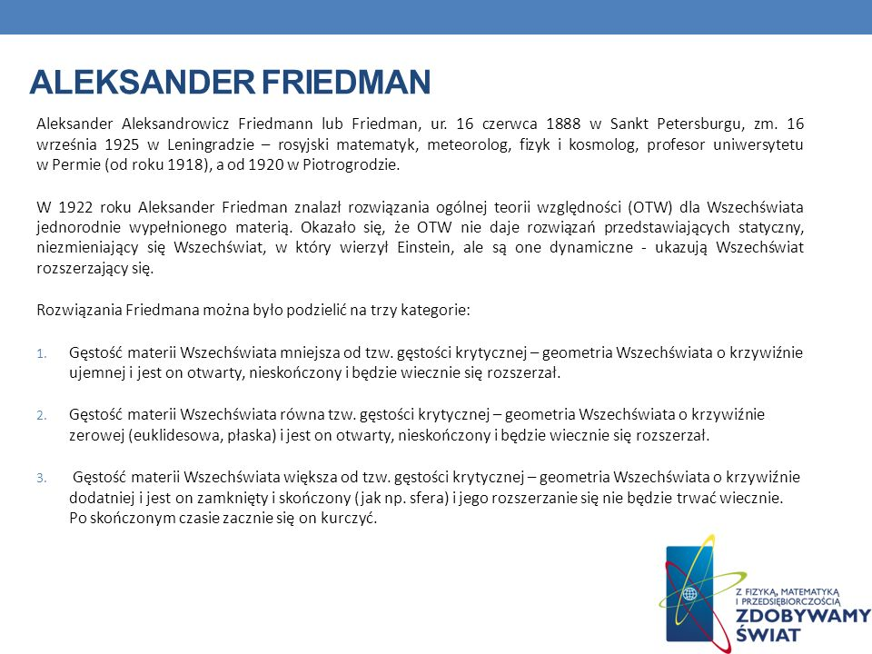 Aleksander Friedman