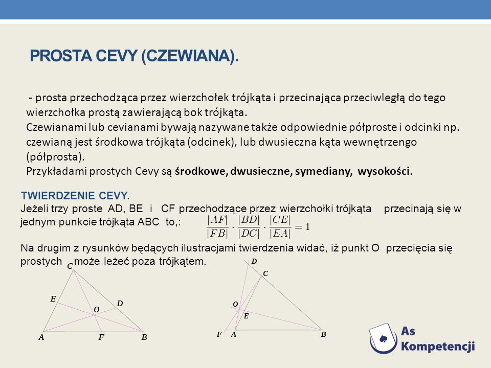 PROSTA CEVY (CZEWIANA).