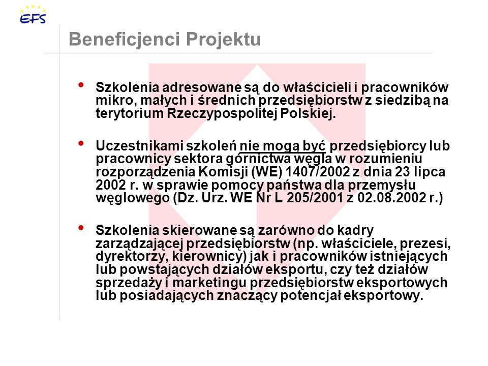 Beneficjenci Projektu