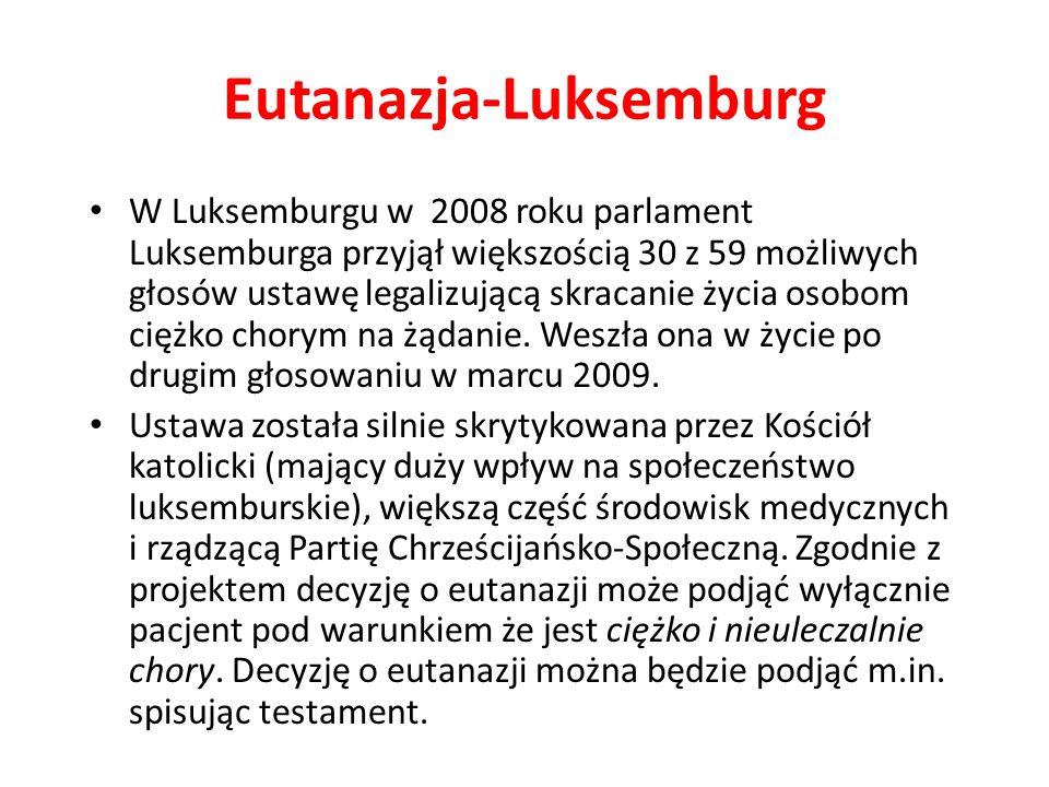 Eutanazja-Luksemburg