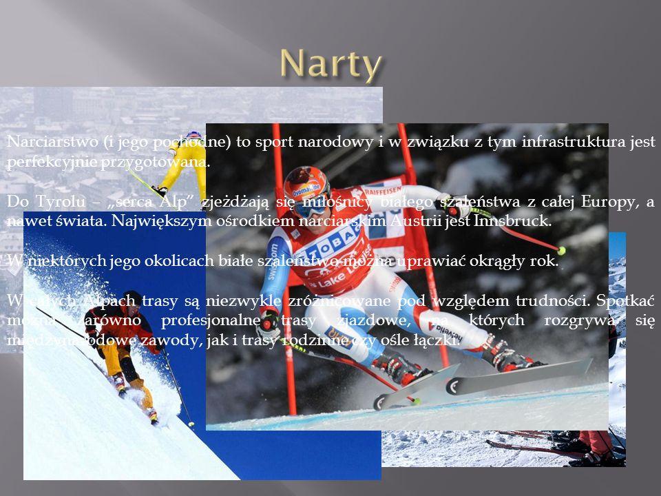 Narty Narciarstwo (i jego pochodne) to sport narodowy i w związku z tym infrastruktura jest perfekcyjnie przygotowana.