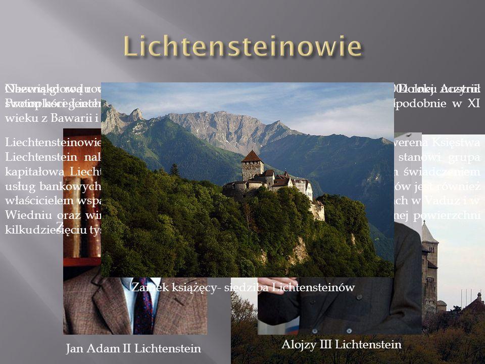Lichtensteinowie Zamek Lichtenstein
