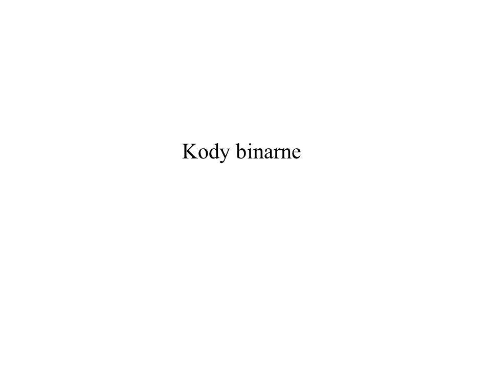Kody binarne
