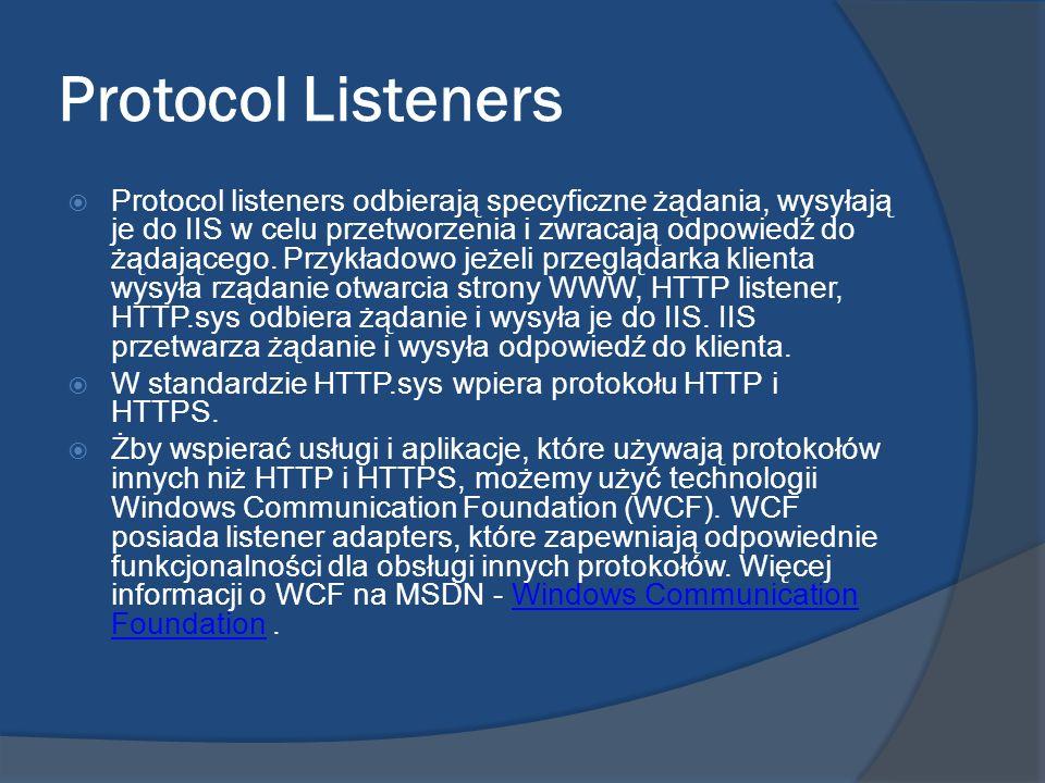 Protocol Listeners