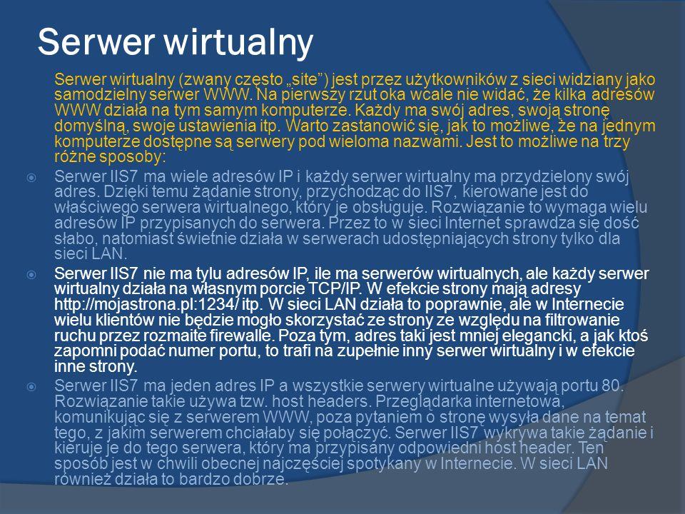 Serwer wirtualny