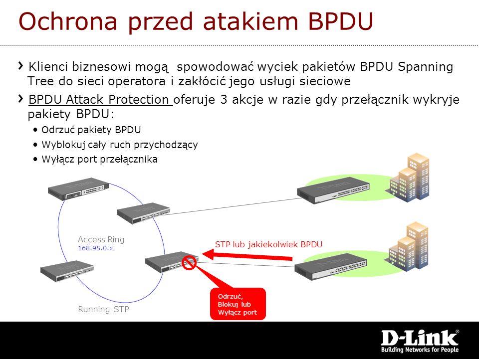 Ochrona przed atakiem BPDU