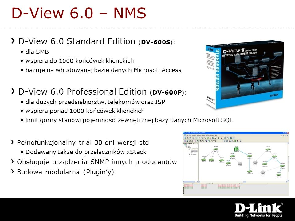 D-View 6.0 – NMS D-View 6.0 Standard Edition (DV-600S):