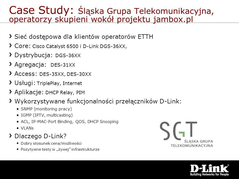 Case Study: Śląska Grupa Telekomunikacyjna, operatorzy skupieni wokół projektu jambox.pl