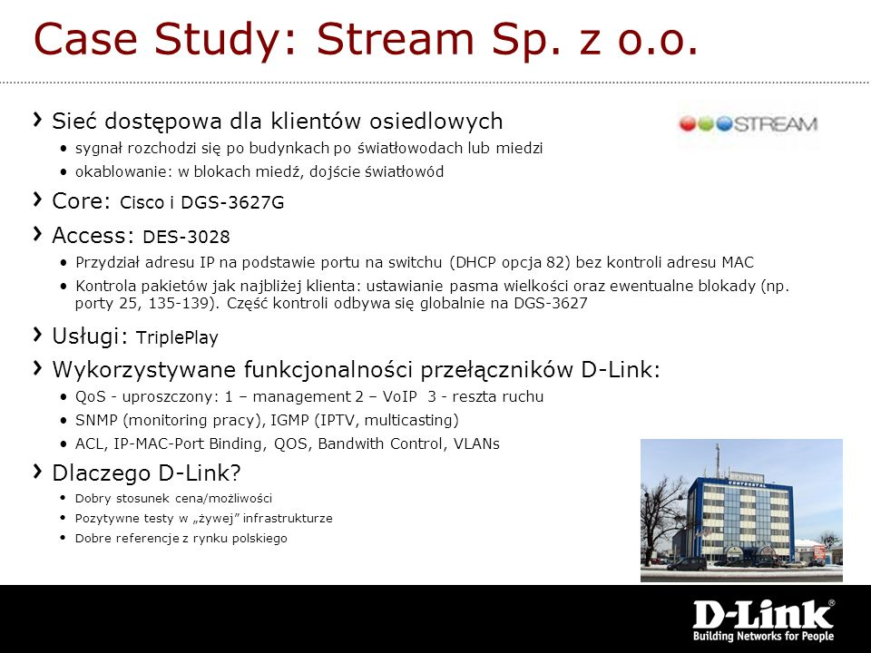 Case Study: Stream Sp. z o.o.