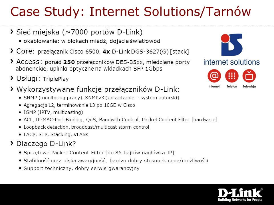 Case Study: Internet Solutions/Tarnów