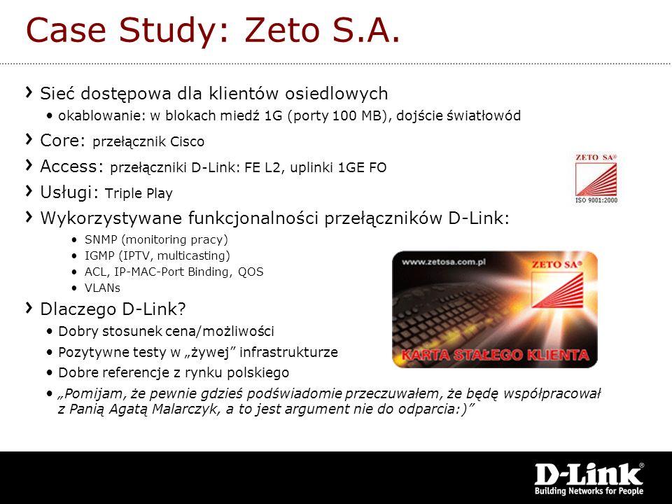 Case Study: Zeto S.A. Sieć dostępowa dla klientów osiedlowych
