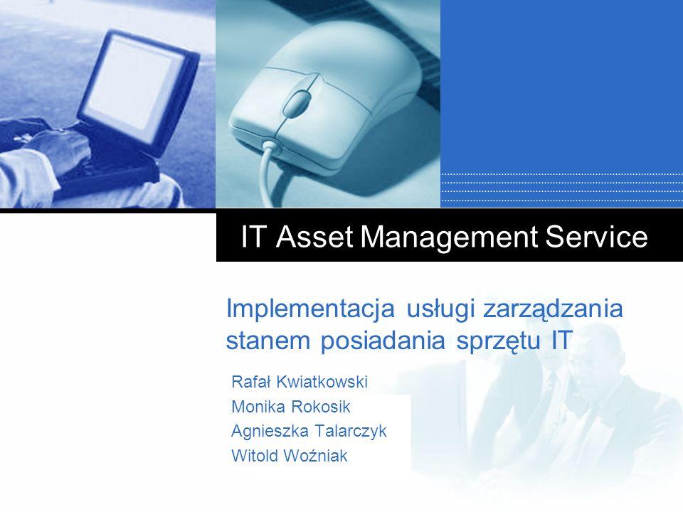 IT Asset Management Service