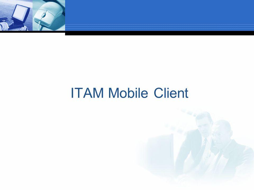 ITAM Mobile Client
