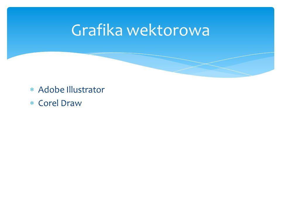 Grafika wektorowa Adobe Illustrator Corel Draw
