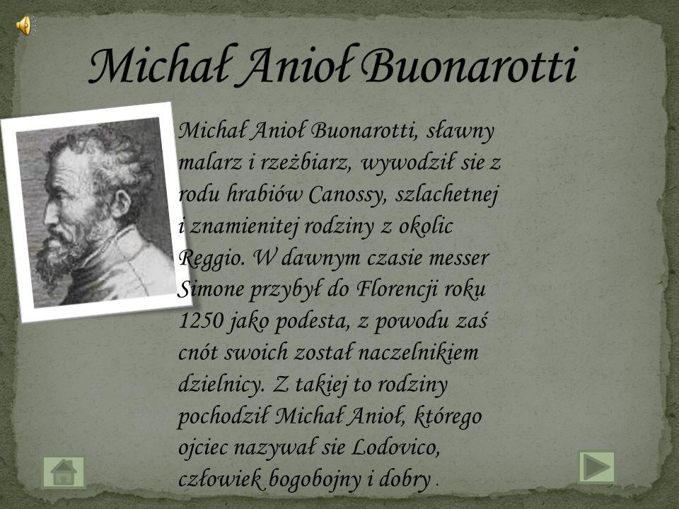 Michał Anioł Buonarotti
