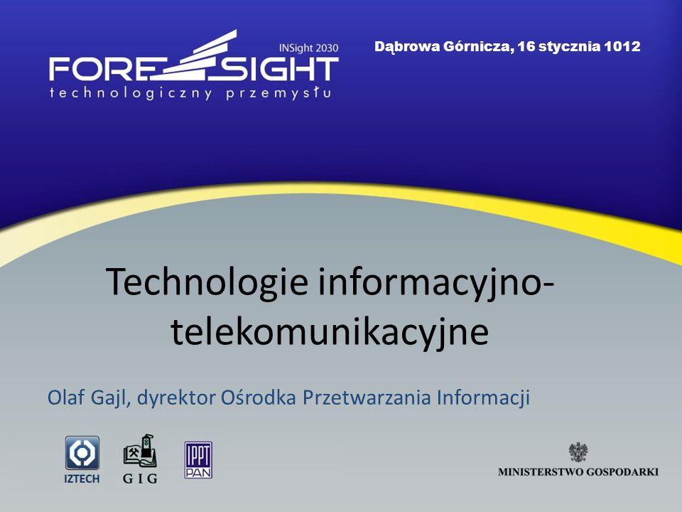 Technologie informacyjno-telekomunikacyjne