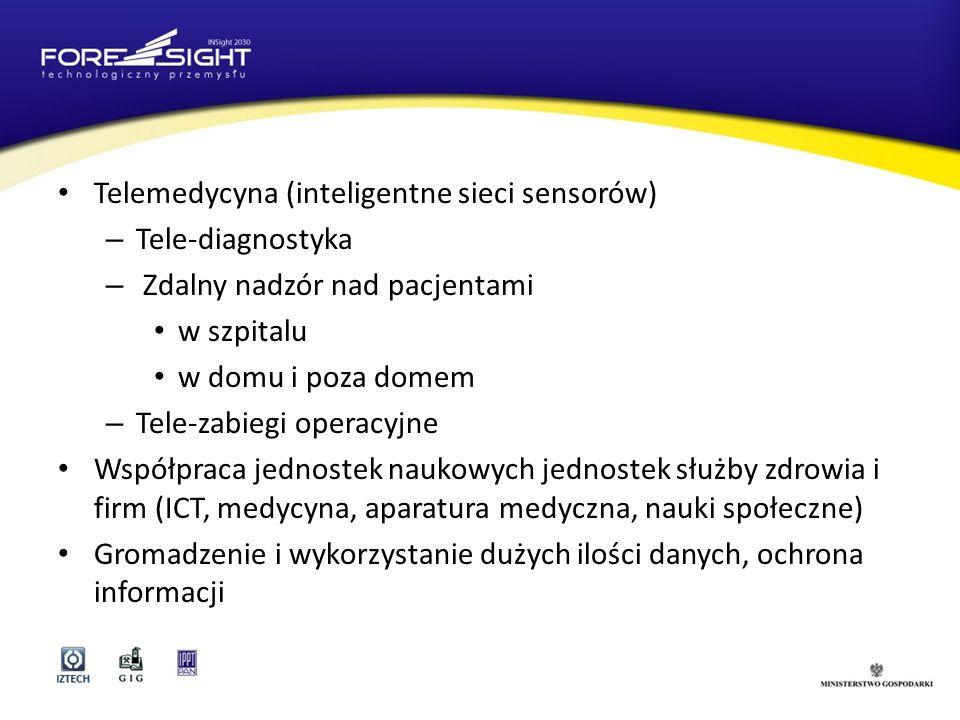 Telemedycyna (inteligentne sieci sensorów)