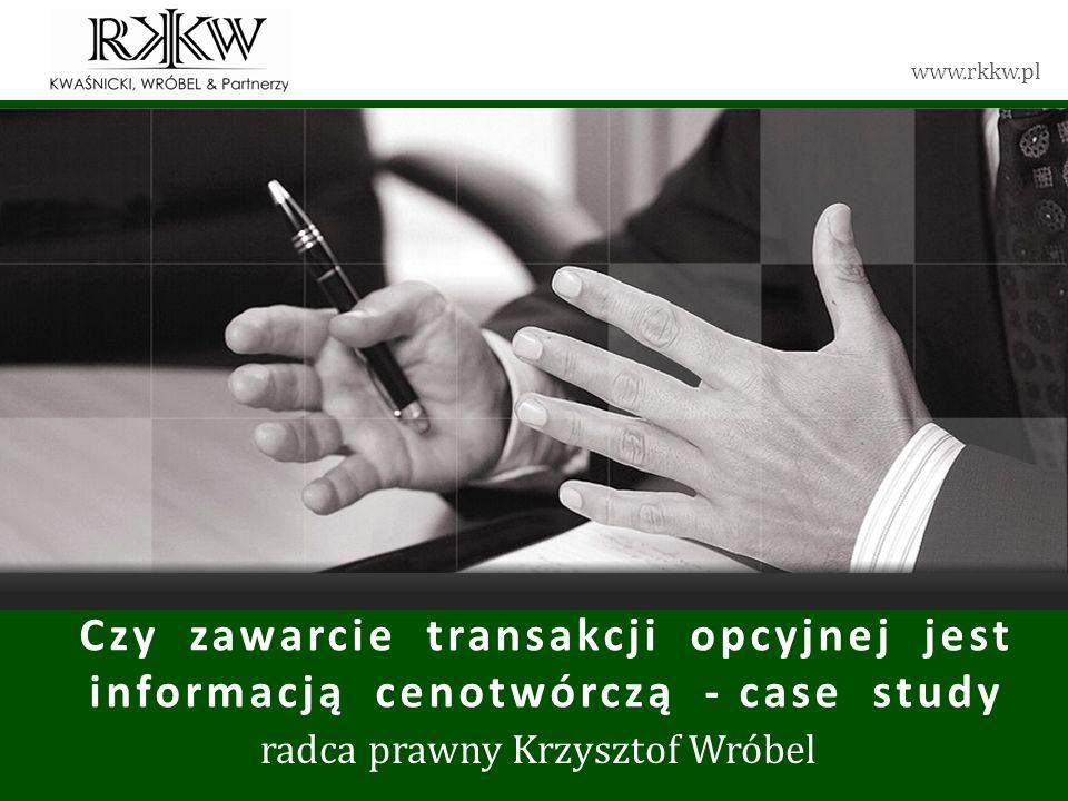 radca prawny Krzysztof Wróbel