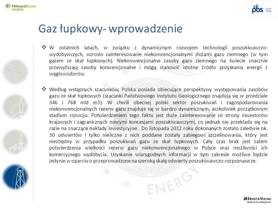 Gaz łupkowy- wprowadzenie