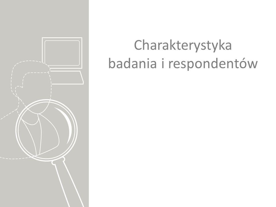 Charakterystyka badania i respondentów