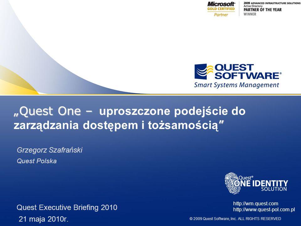 """""""Quest One – uproszczone podejście do zarządzania dostępem i tożsamością"""