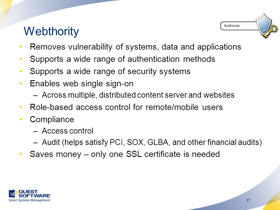 Webthority Removes vulnerability of systems, data and applications
