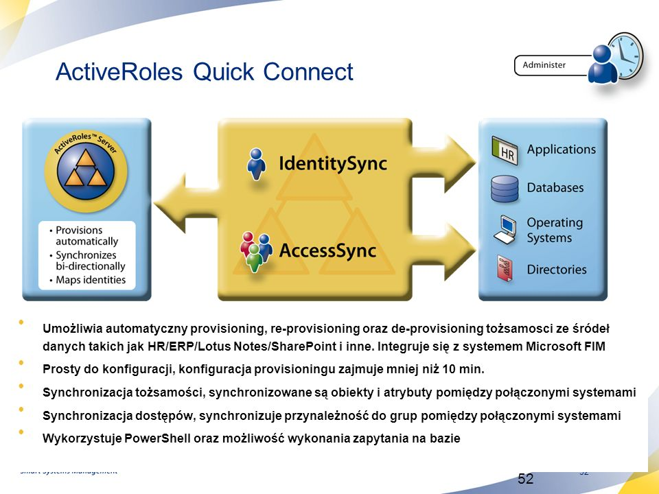 ActiveRoles Quick Connect